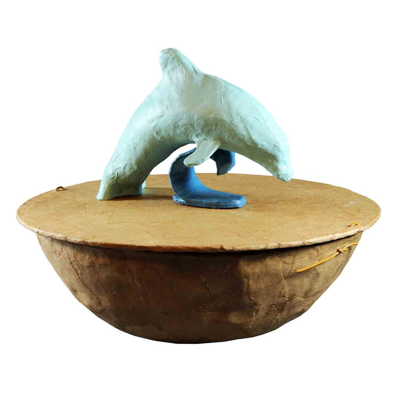 Unusual Biodegradable Serenity Dolphin Urn