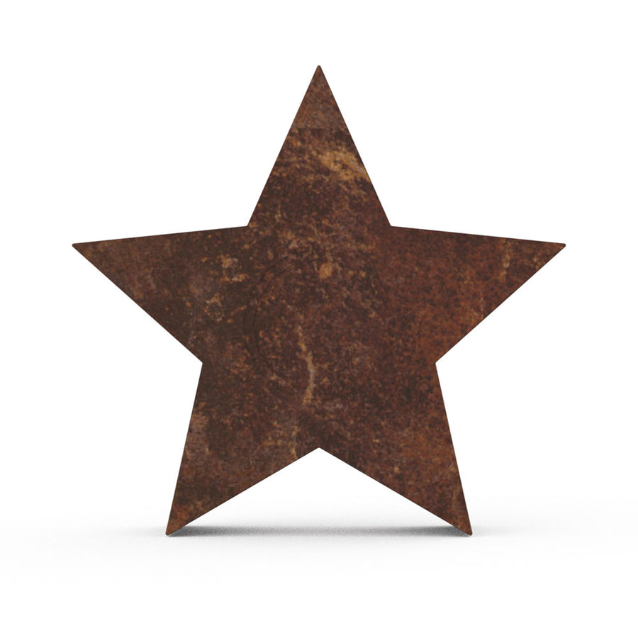 Star Cremation Urn For Ashes Brown Bronze