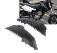 1 Pair Supermoto Motocross Front Side Air Box Cover Guards Black  For Kawasaki  KLX250 KLX250S KLX250SF   D-Tracker X 2008-2019