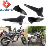 Dirt Bike Motocross Front Side Panel Cowl Fairing Oil Tank Covers For Kawasaki KLX250 D-Tracker X 2008-2019 KLX250S KLX250SF