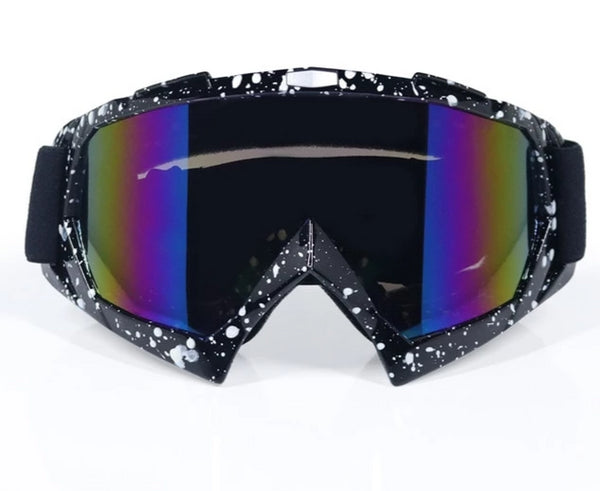 Goggles for a dirtbike helmet