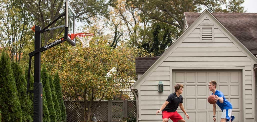 See our collection of Goalrilla hoops. We're here to help you find the best in ground basketball hoop for your family.