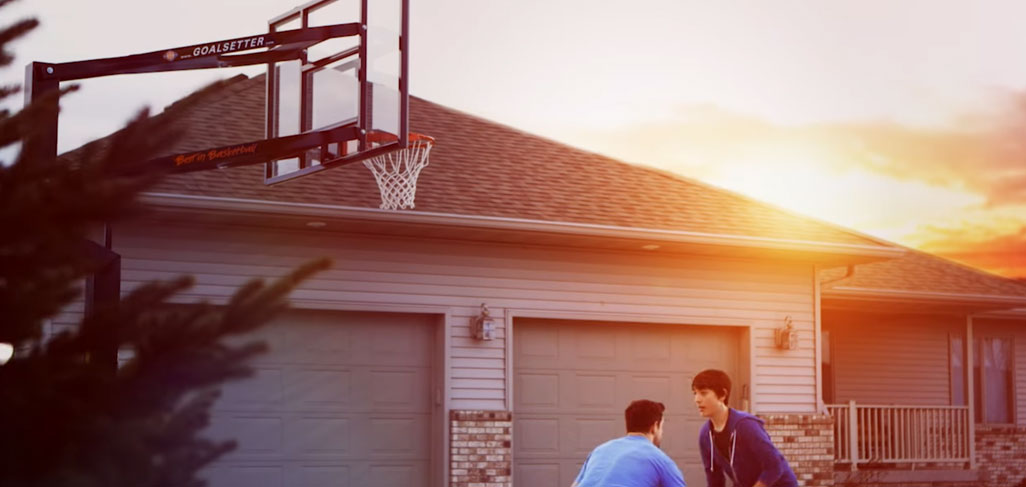 Goalsetter hoops are made in the USA. We'll help you find the best in ground basketball hoop for your family.