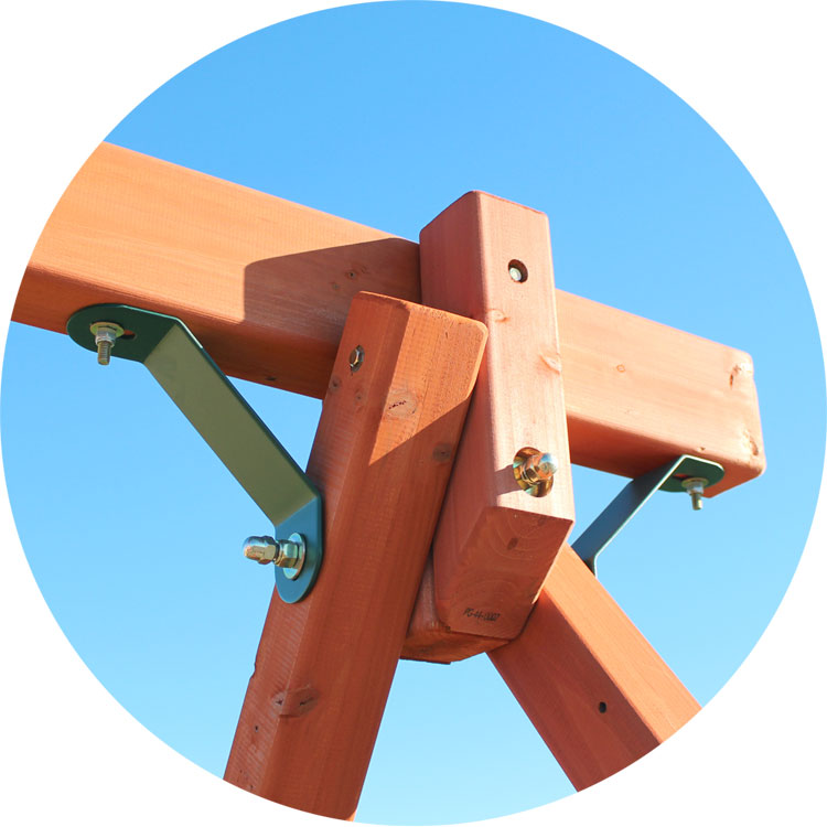 Sturdy Swing Beam Connection