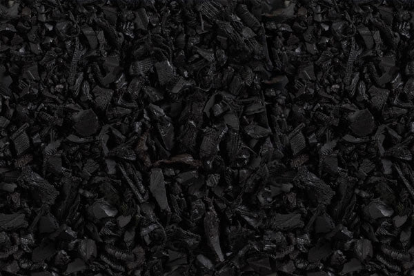Rubber Playground Mulch - Black - 2000 lbs Pallet