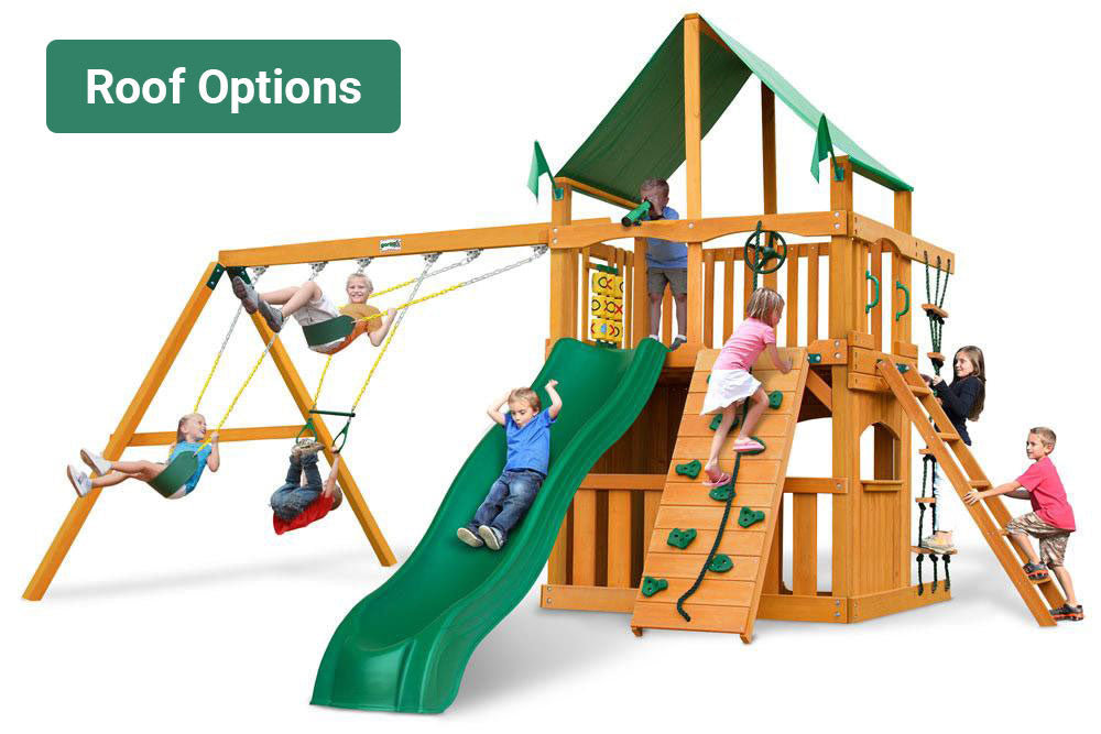 Chateau Clubhouse- Gorilla Playsets
