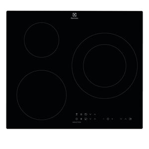 Plaque à Induction Electrolux EIT60336CK 60 cm Noir (3 Zones de cuisson)