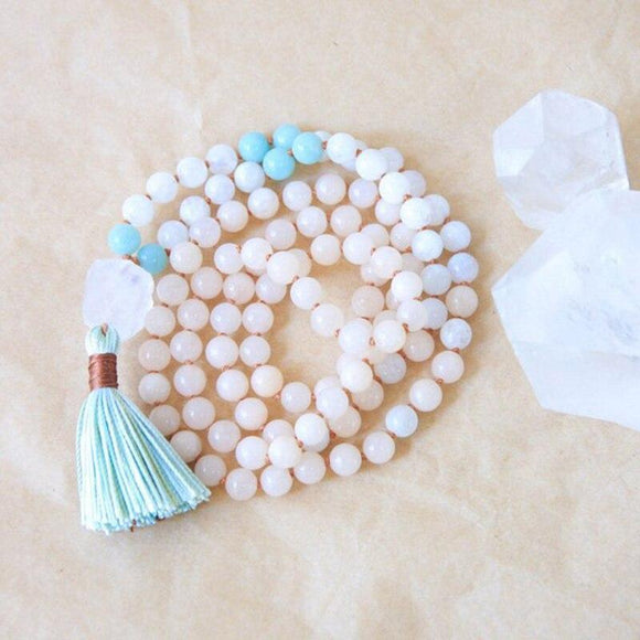 Mala Prayer Necklaces | Green Witch Creations