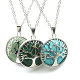 Tree Of Life Stone Necklaces - greenwitchcreations