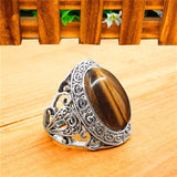 Tigers Eye Rings - greenwitchcreations