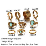 Bohemian Ring Sets | Green Witch Creations - greenwitchcreations