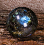 Labradorite Crystal Ball Spheres | Green Witch Creations - greenwitchcreations