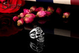 Skull Rings | Men's Rings | Green Witch Creations - greenwitchcreations