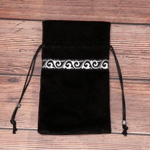 Black Tarot Card Bags | Green Witch Creations - greenwitchcreations