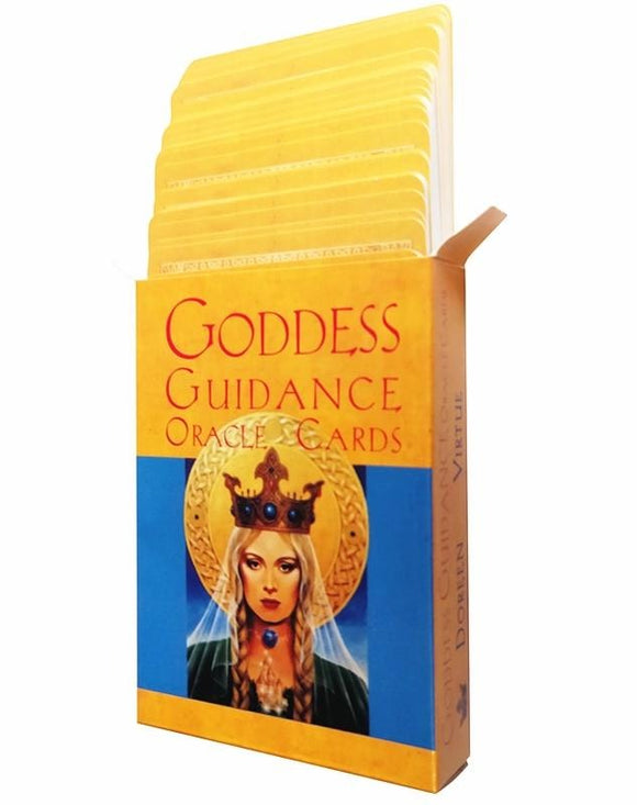 Goddess Guidance Oracle Card Deck - greenwitchcreations