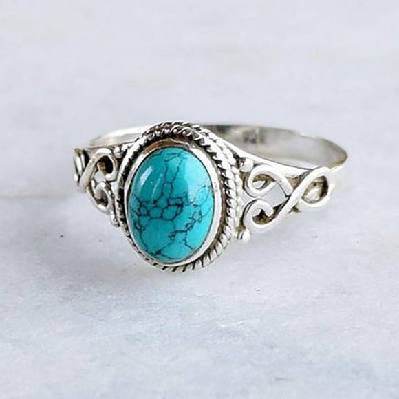 Turquoise Rings - greenwitchcreations