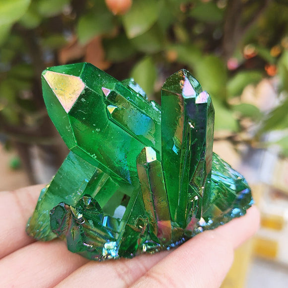 Green Crystals | Green Witch Creations - greenwitchcreations