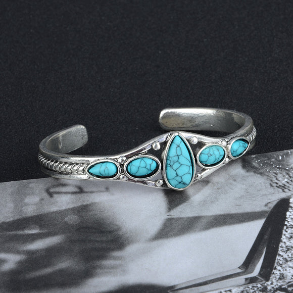 Turquoise Silver Bracelets | Jewelry | Green Witch Creations - greenwitchcreations