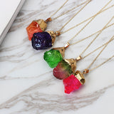 Colorful Crystal Necklaces | Jewelry | Green Witch Creations - greenwitchcreations