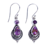 Amethyst Earrings - greenwitchcreations