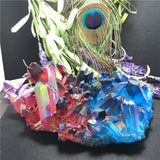 Colorful Aura Quartz Crystals - greenwitchcreations