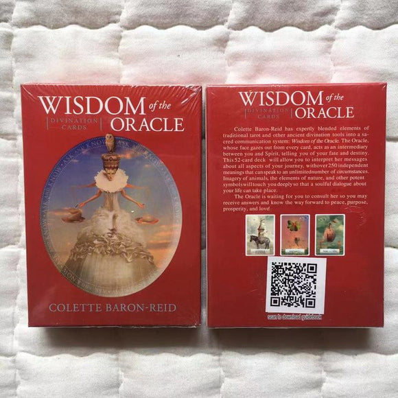 Wisdom Of The Oracle Oracle Card Decks | Tarot & Oracle Cards | Green Witch Creations - greenwitchcreations