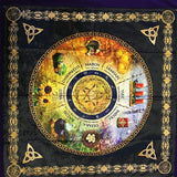 Tarot Card Alter Cloths | Wiccan Supplies | Green Witch Creations - greenwitchcreations
