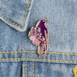 Raven Pins | Pins & Brooches | Green Witch Creations - greenwitchcreations