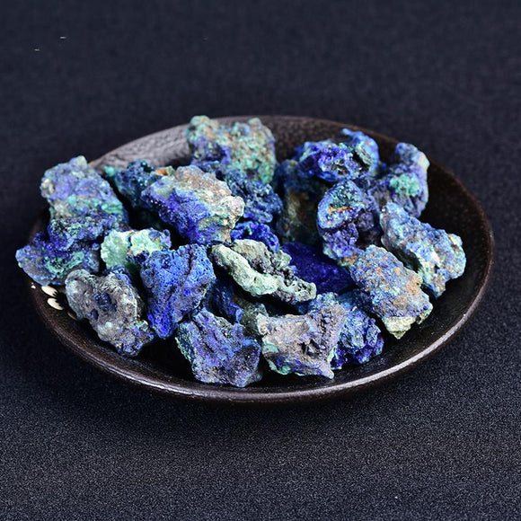 Raw Rough Azurite Stones | Green Witch Creations - greenwitchcreations