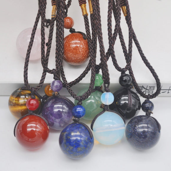 Crystal Necklaces | Green Witch Creations - greenwitchcreations