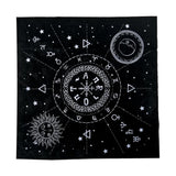 Astrology Tarot Alter Cloth | Tarot & Oracle Cards | Green Witch Creations - greenwitchcreations