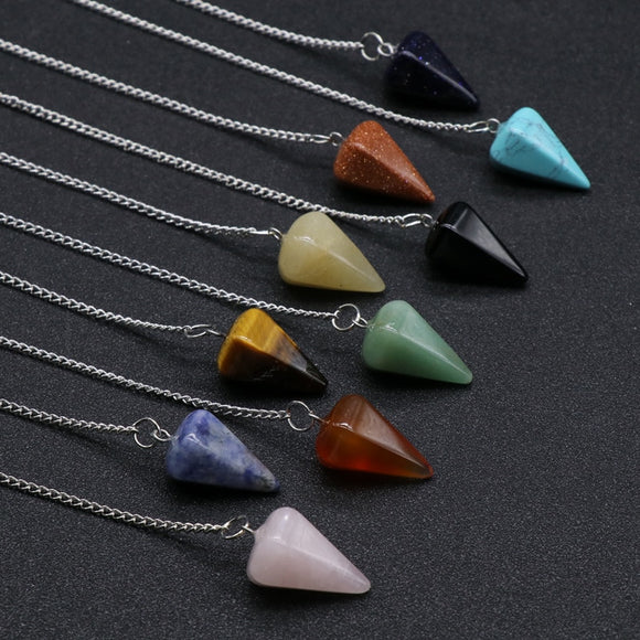 Crystal Pendulums | Green Witch Creations - greenwitchcreations