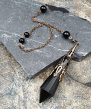Obsidian Pendulums | Pendulums | Green Witch Creations - greenwitchcreations