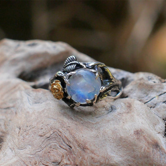 Opal Stone Rings | Jewelry | Green Witch Creations - greenwitchcreations