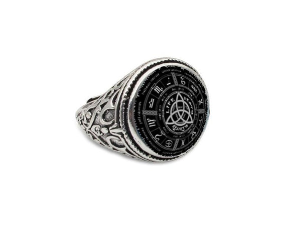 Celtic Trinity Rings | Men's Jewelry | Green Witch Creations - greenwitchcreations