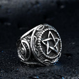 Men's Pentacle Rings | Wiccan Jewelry | Green Witch Creations - greenwitchcreations