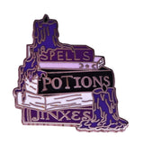 Spells, Potions, & Jinxes Pin - greenwitchcreations
