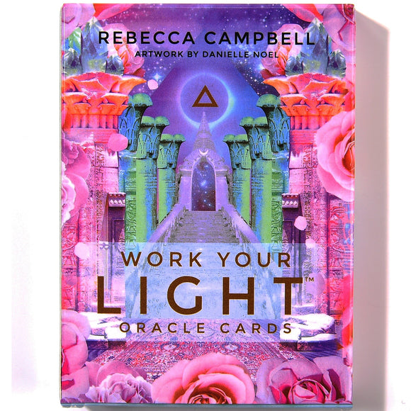 Work Your Light Oracle Cards - greenwitchcreations