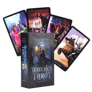 The Witches Tarot Deck - greenwitchcreations