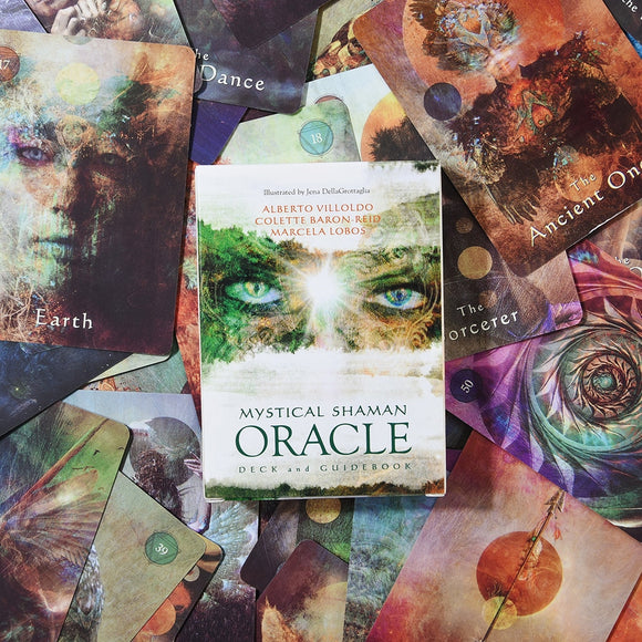 Mystical Shaman Oracle Cards - greenwitchcreations