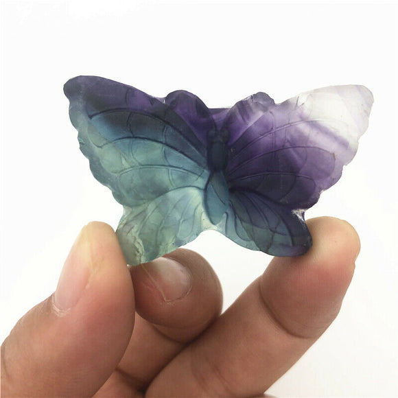 Fluorite Butterfly Crystals | Green Witch Creations - greenwitchcreations