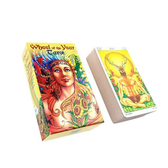 Wheel Of Year Tarot Cards | Tarot & Oracle Decks | Green Witch Creations - greenwitchcreations