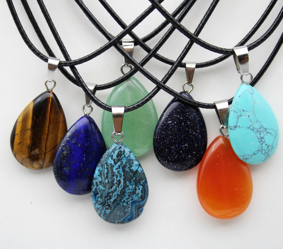Stone Necklaces | Jewelry | Green Witch Creations - greenwitchcreations
