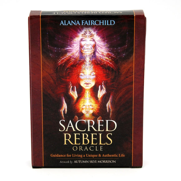 Sacred Rebels Oracle Card Deck - greenwitchcreations