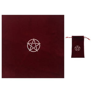 Pentacle Tarot Cloths and Bags - greenwitchcreations