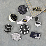 Moon & Space Pins For Sale - greenwitchcreations