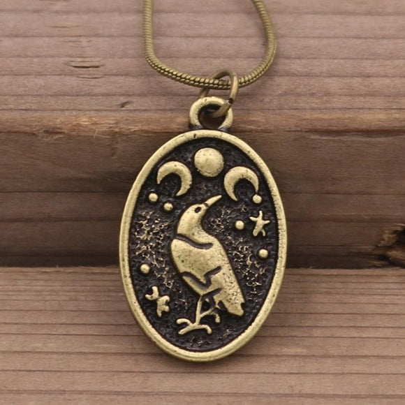 Raven Moon Necklaces - greenwitchcreations