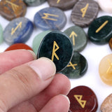 Multi Stone Crystal Runes | Green Witch Creations - greenwitchcreations