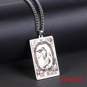 Tarot Card Necklaces | Wiccan Jewelry - greenwitchcreations