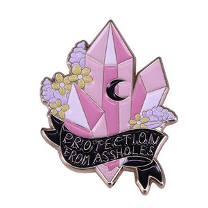 Magic Crystal & Moon Pins - greenwitchcreations